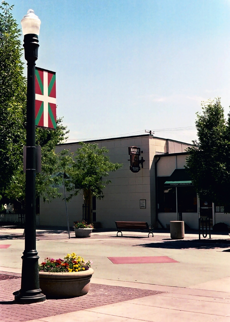 Photo of the Basque museum and Cultural Center by Dave Green of North End Creative circa 2006.