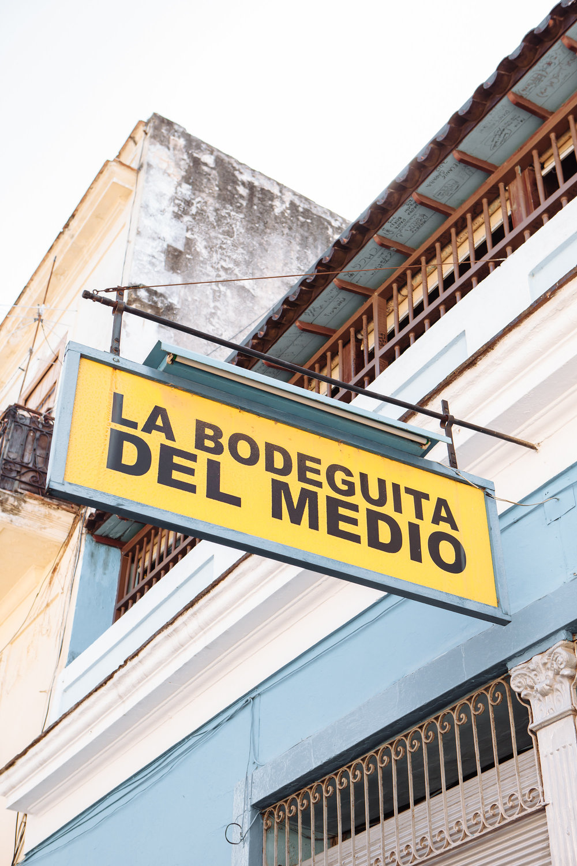 La Bodeguita<br>Del Medio*