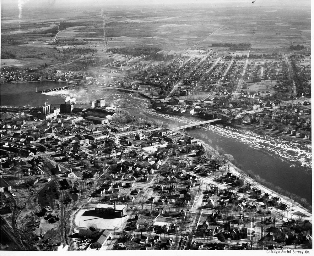 Aerial of Wisconsin Rapids
