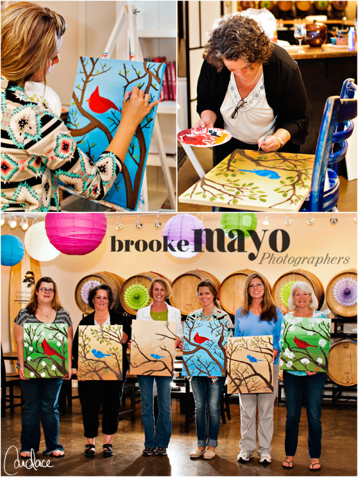 Outer Banks wine and paint class | Canvas and Cork