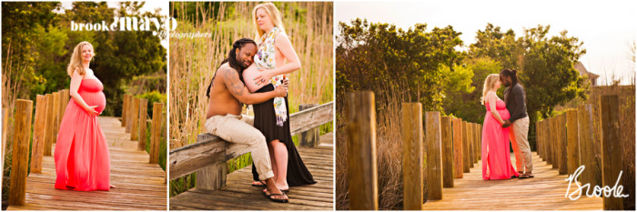 Outer Banks maternity portraits