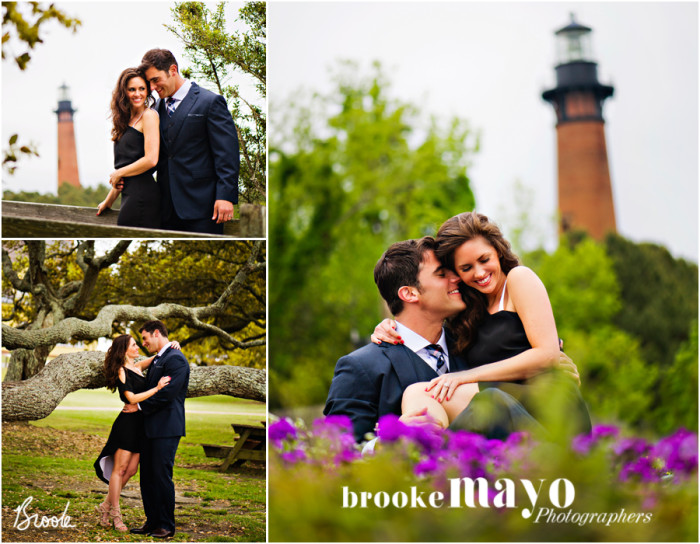 outer banks engagement portraits