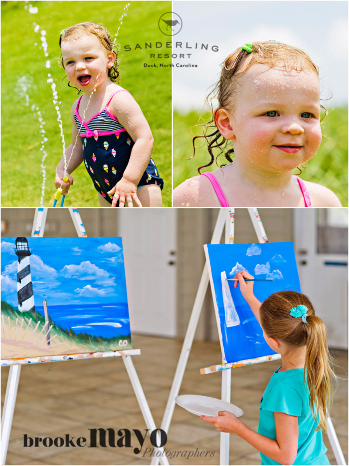 Sanderling Resort | Sprinkler & Candy and Canvas Paint Class