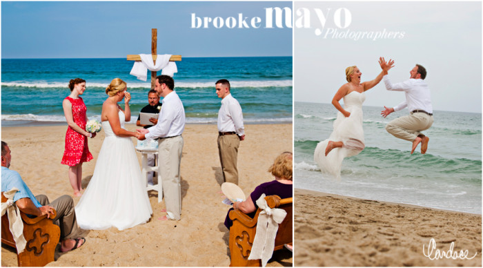 Duck Beach Wedding