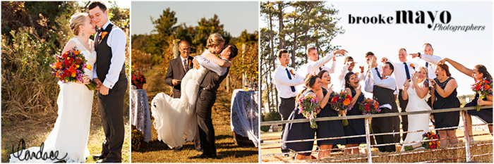 NC Vineyard Wedding