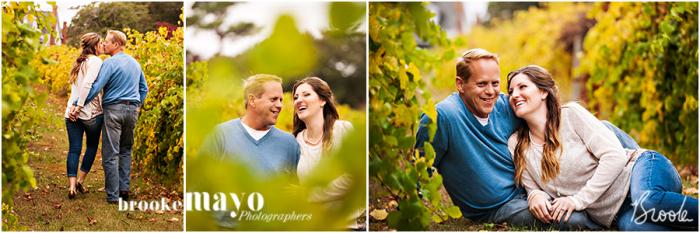 Sanctuary Vineyards Engagement Portraits