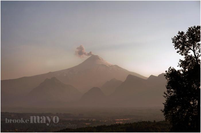 Villarica Volcano Chile
