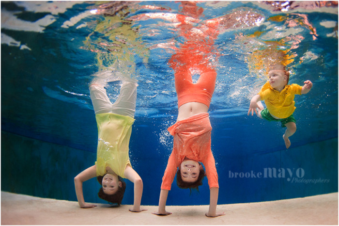 Underwater Family Portraits