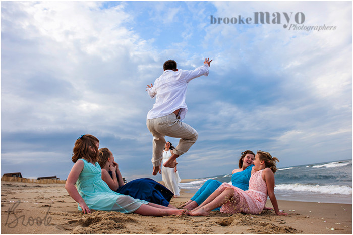 Nags  Head Beach Wedding