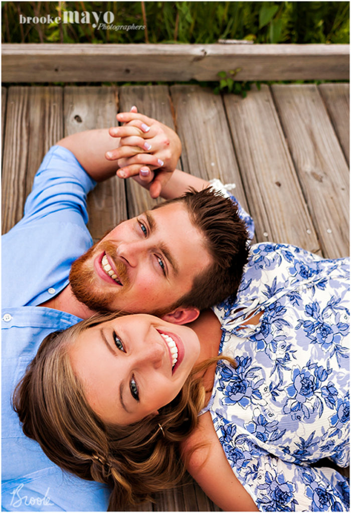 coquina engagement portraits