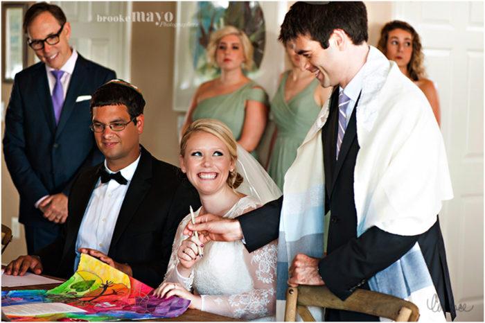 jewish wedding traditions ketubah