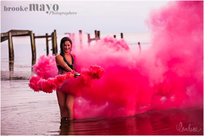 Smoke Bombs | Boudoir — Brooke Mayo Photographers