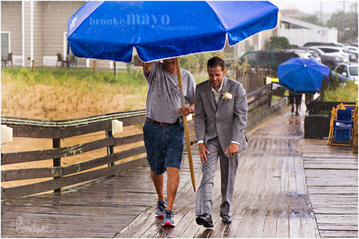 Kitty Hawk Pier Wedding