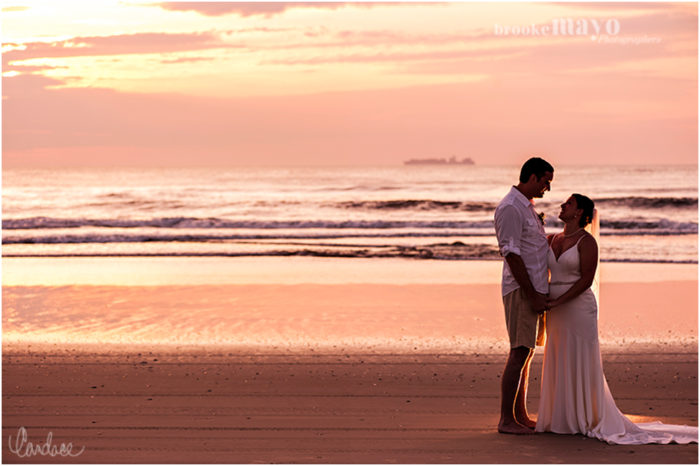 Carova Sunrise Wedding