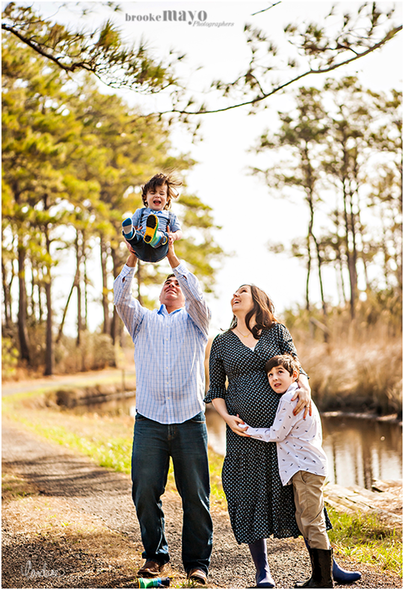 Sanctuary Vineyards Family Portraits