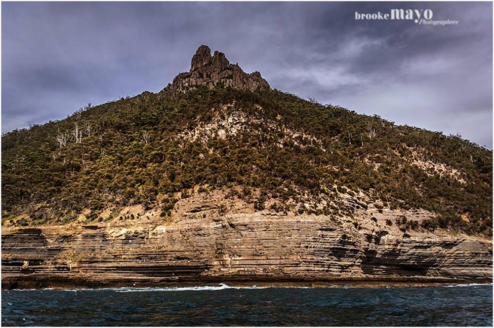 Cliff Wall Maria Island