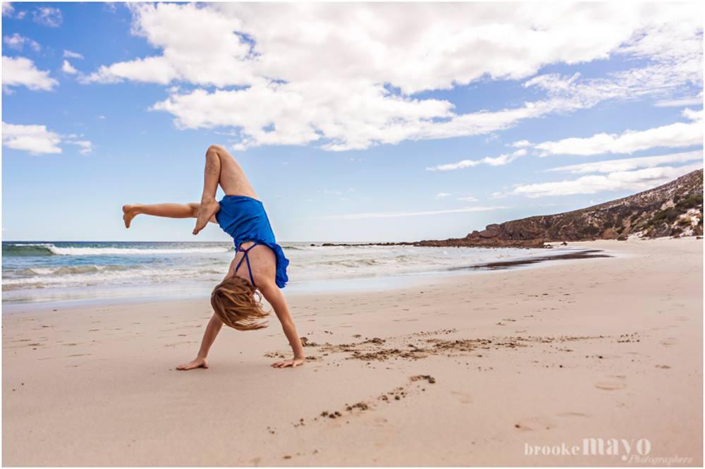 australian beach fun