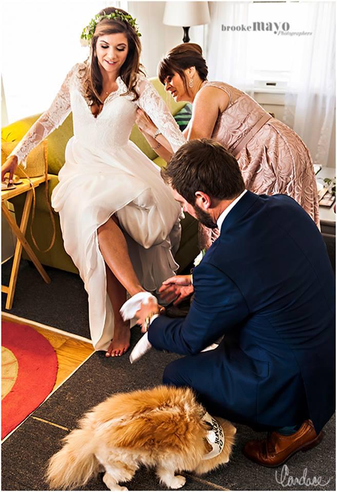 wedding final touches