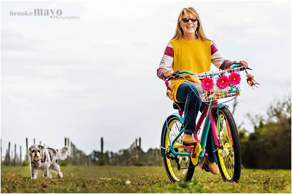 Bike on farm