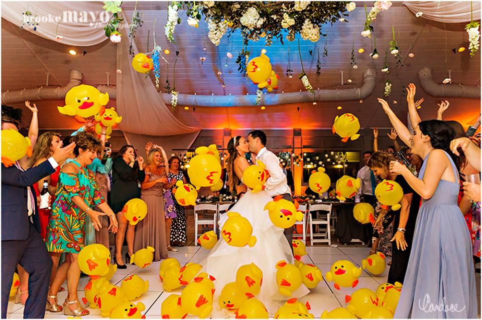 Sanderling wedding exit