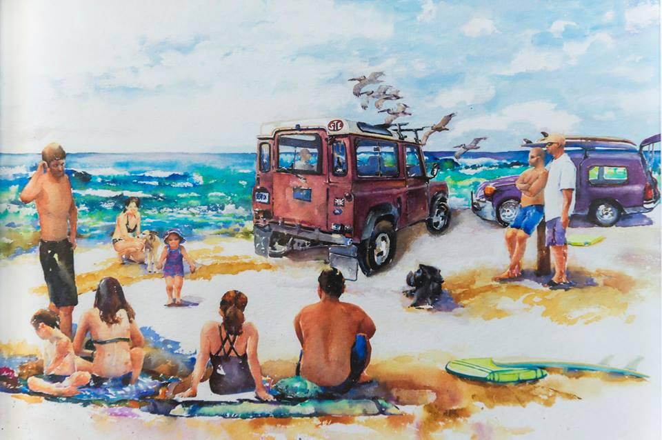 Costa Rica painting