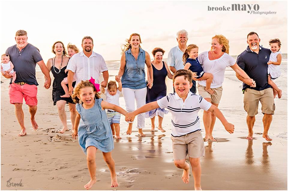 Fun Family Beach Portraits