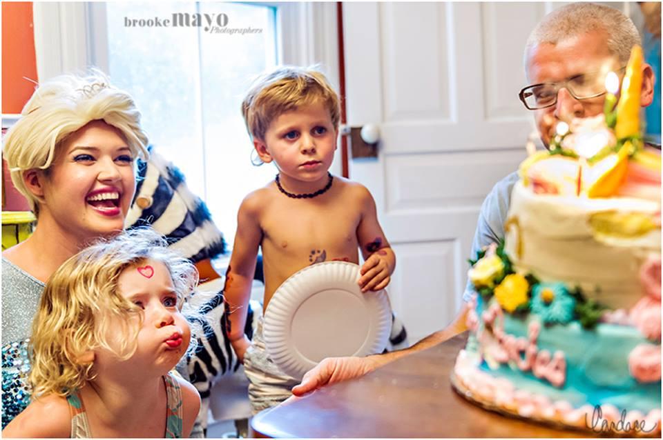 elsa kid party