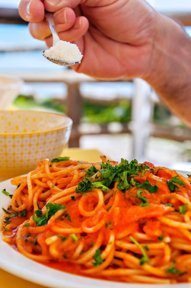 italian pasta and cheese