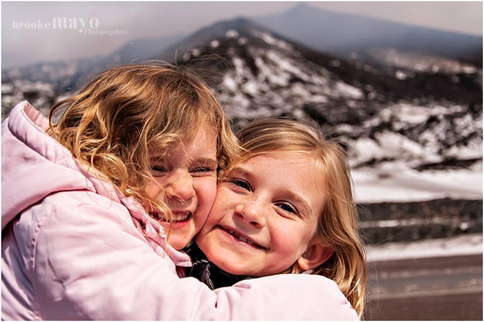 Mt. Etna family vacation