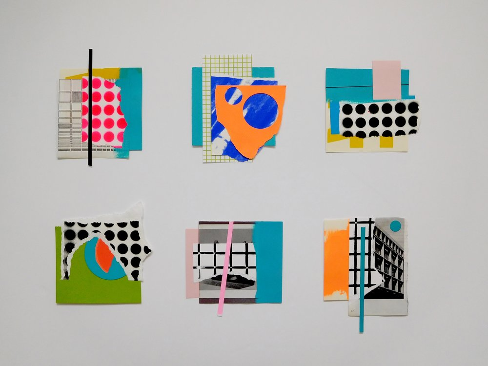 Tina Dempsey '6 Collages'