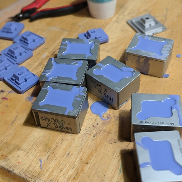 Mold making with Synth v.3 butts