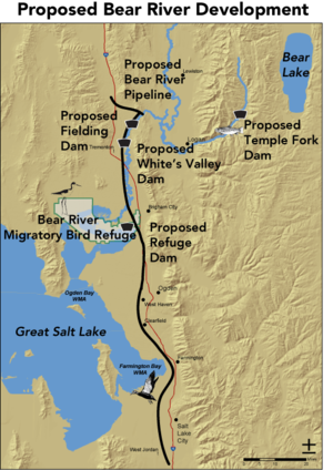 Bear River The Great Salt Lake Utah Rivers Council