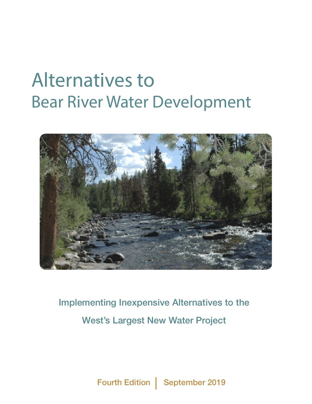 Alternatives to Bear River Water Development