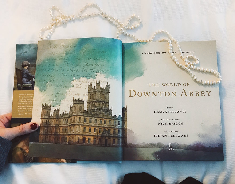 Pictured:   The World of Downton Abbey  . Photo: author's own.