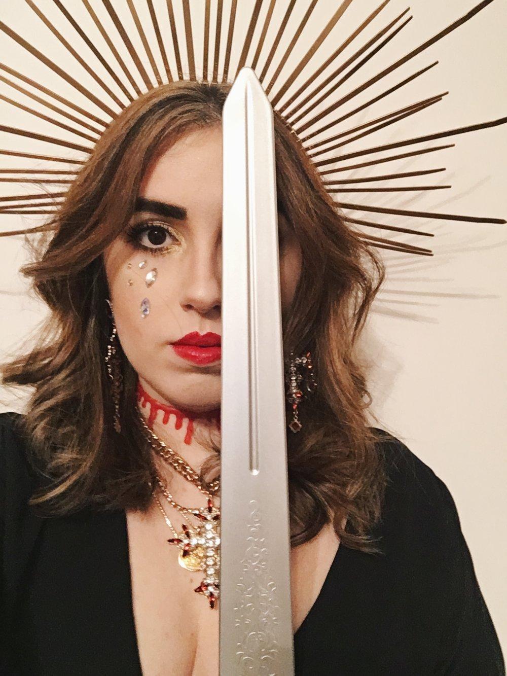 Rory Saint Margaret of Antioch Sword.JPG