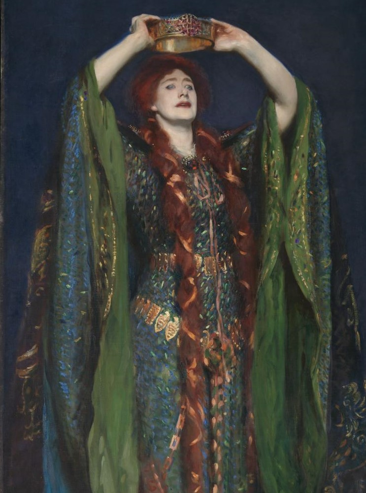 Dame Ellen Terry as Lady Macbeth , 1889.