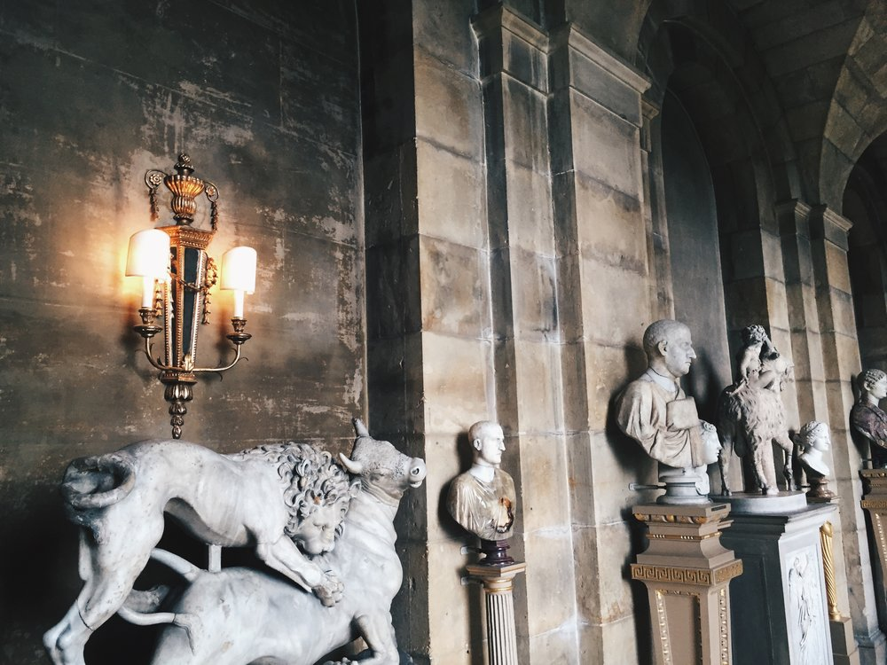 Castle Howard – the scenic home to  Brideshead Revisited , mentioned below, photographed by Olivia Gündüz-Willemin in 2016.