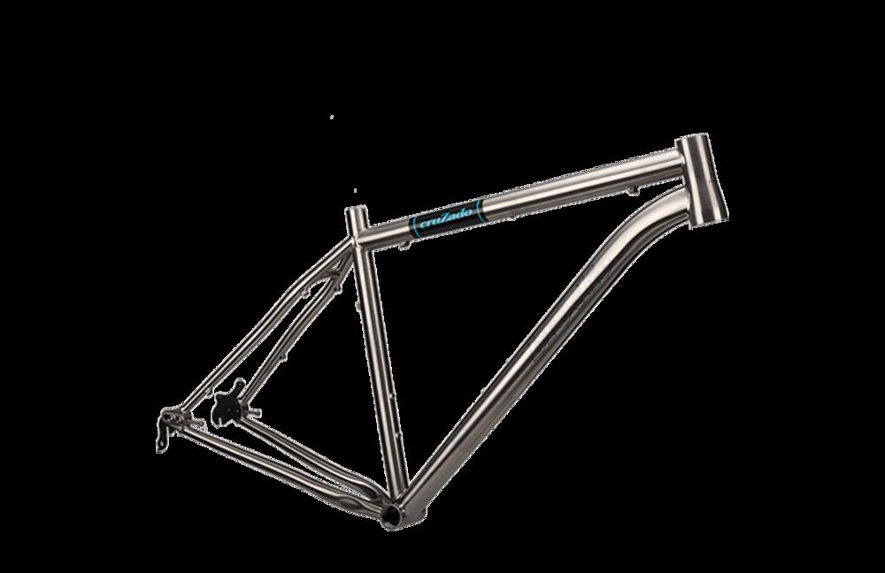 2016 Cruzado Ti Frame — Brodie Bicycles