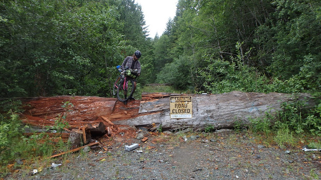 This type of signage is usually more of a guideline... and often leads to some of the best routes on a bike.