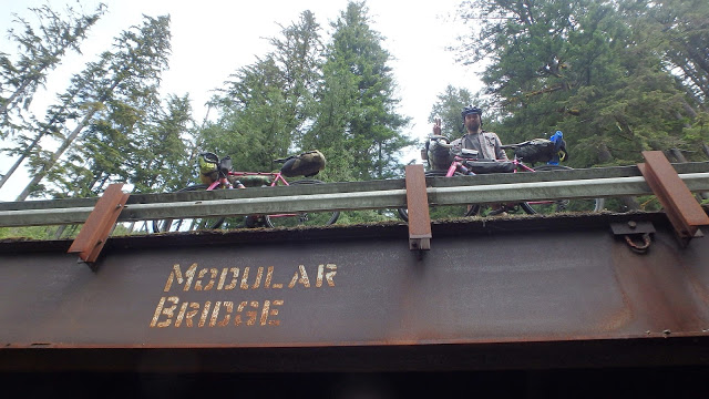We became big fans of Modular Bridge technology during the trip. Always searching out our next possible #prohobo site.