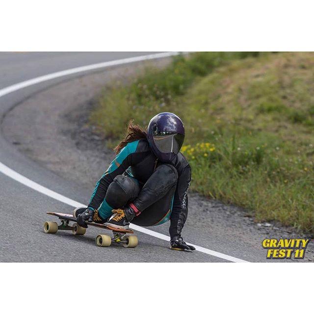 Looks like @ash_beersneeze had a blast at Gravity Fest 11!  Photos: @khaleeqovision #cometskateboards #downhillskateboarding