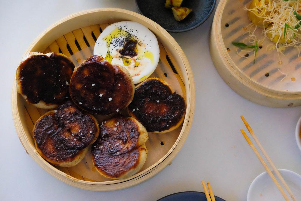 poppyseed & onion jam bao