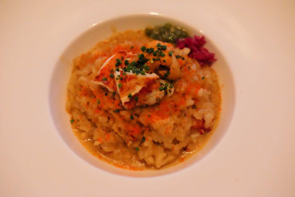 lobster & uni risotto