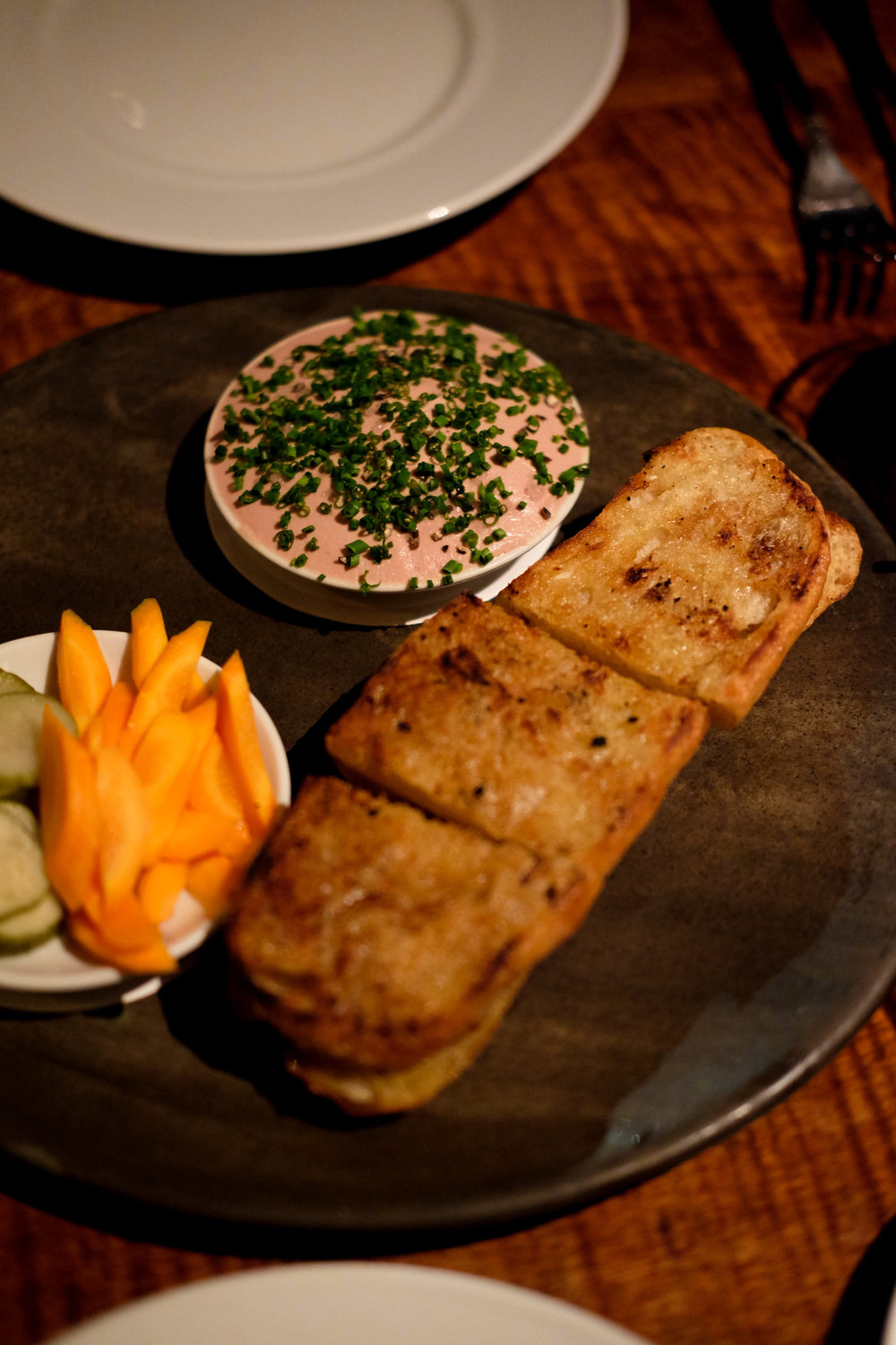 duck liver mousee