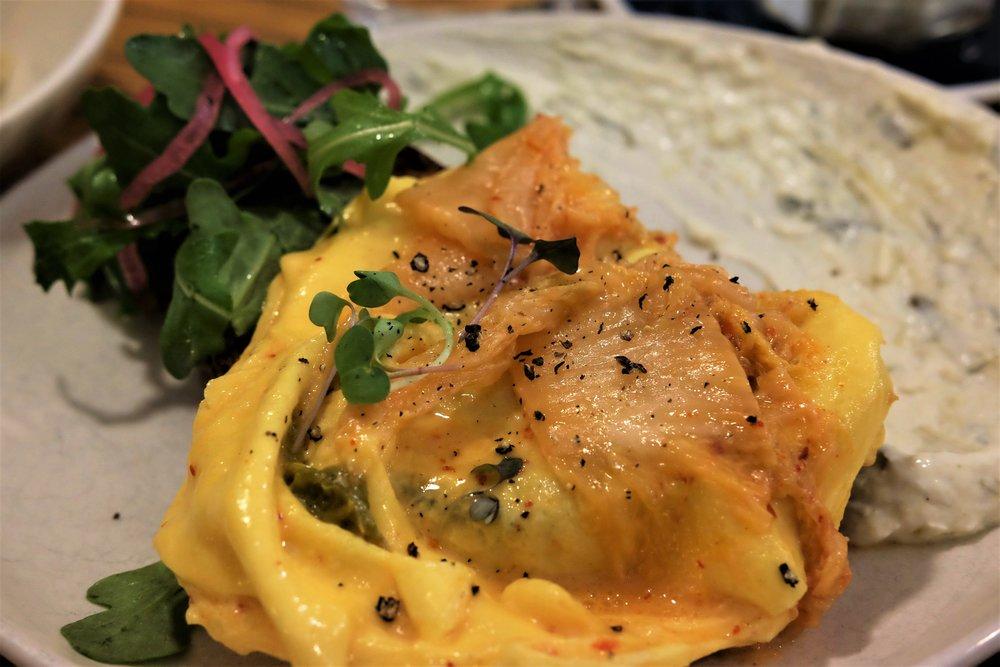 kimchi scrambled eggs