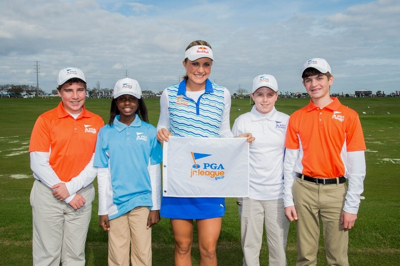 """I was so lucky to grow up playing golf surrounded by great mentors. Now, I want to help grow the game for the next generation of golfers, helping provide them with all the opportunities I had.""  - Lexi Thompson"