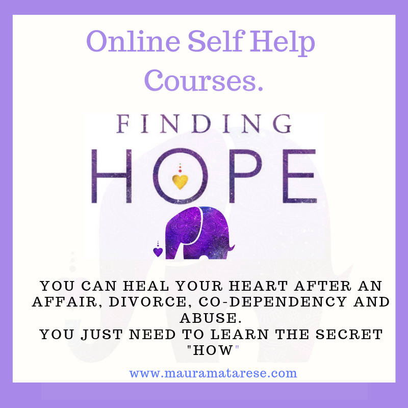Coming Soon! - Free Mini course to whet your appetite for the Finding Hope After Heartbreak Online courses.