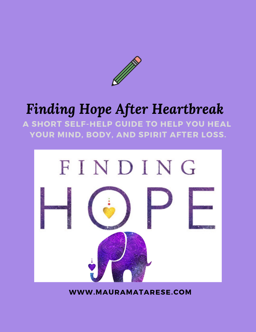 Free Workbook - You can find hope after heartbreak!