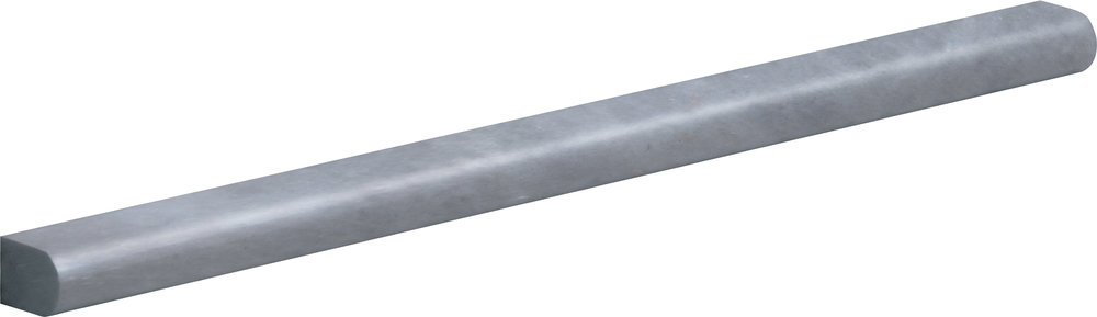 "ML00787 allure light polished pencil liner molding 1/2""x12""x11/16"