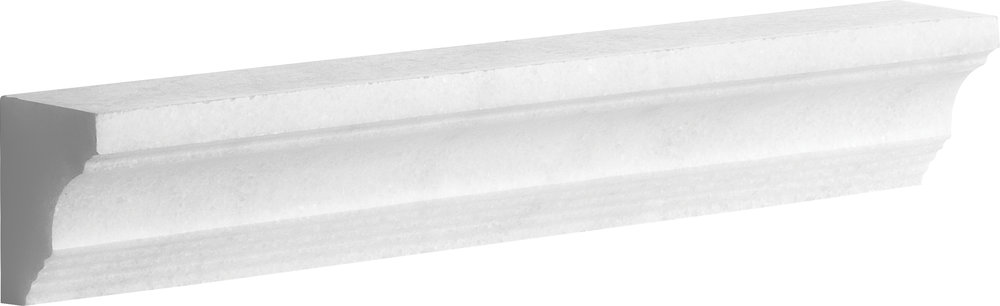 "ML00709 avalon polished modern cornice molding 2""x12""x1 1/2"""